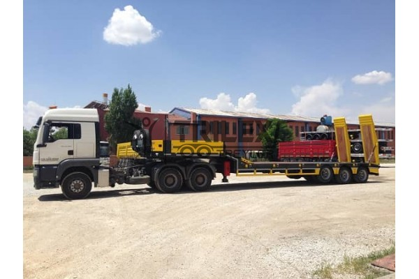 3 Axles Lowbed