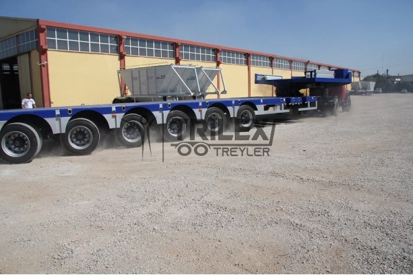 8 Axles Lowbed