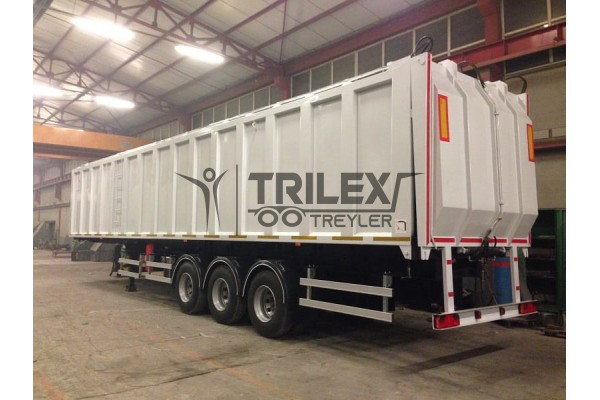 Sale Compression System Garbage and Waste Transfer Semi-Trailer
