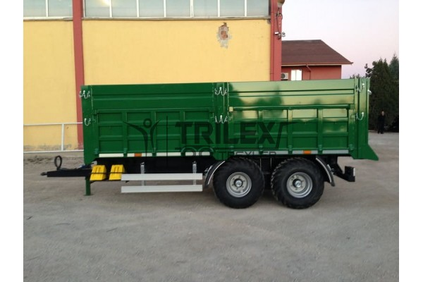 10 Ton Capacity Rear Tipping Trailer