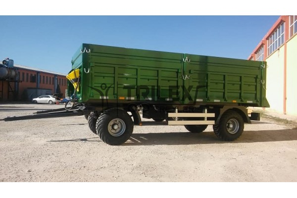 Tipping Trailer with Rotary Arrow for Agricultural