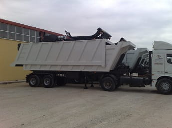 Excavation Tipping Semi Trailer Transportation Package